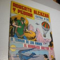 BDs: ROBERTO ALCÁZAR Y PEDRÍN. EDIVAL Nº 20 EXTRA 1977 (BUEN ESTADO). Lote 211515641