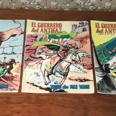 Tebeos: LOTE DE 3 TEBEOS, EL GUERRERO DEL ANTIFAZ, AÑOS 72 - 73, NÚMEROS: 9, 13 Y 68.. Lote 211697603