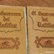 Tebeos: 2 TOMOS COMPLETOS EL GUERRERO DEL ANTIFAZ, EDITORIAL VALENCIA 1972, 20 COMIC CADA TOMO ESTÁN SUELTO. Lote 211840428