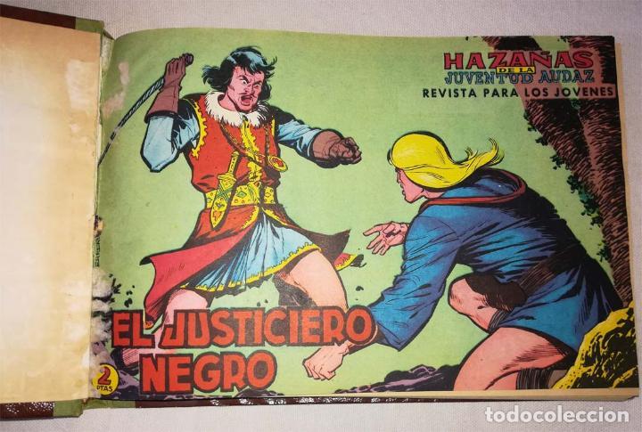 EL JUSTICIERO NEGRO, ORIGINAL COMPLETA (Tebeos y Comics - Valenciana - Otros)