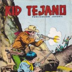 Tebeos: KID TEJANO: NUMERO 19 GOLPE MORTAL , EDITORIAL BRUGUERA. Lote 211983676