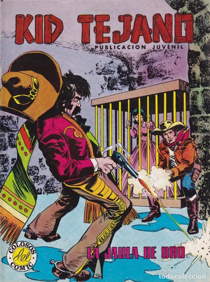 KID TEJANO: NUMERO 25 LA JAULA DE ORO , EDITORIAL BRUGUERA (Tebeos y Comics - Valenciana - Otros)