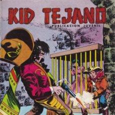 Tebeos: KID TEJANO: NUMERO 25 LA JAULA DE ORO , EDITORIAL BRUGUERA. Lote 211984415