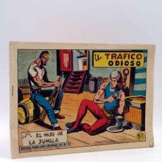 Livros de Banda Desenhada: EL HIJO DE LA JUNGLA 55. UN TRÁFICO ODIOSO (PABLO Y MANUEL GAGO) VALENCIANA, 1955. ORIGINAL. Lote 212162593