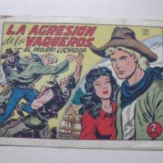 Tebeos: EL PEQUEÑO LUCHADOR. Lote 212196968