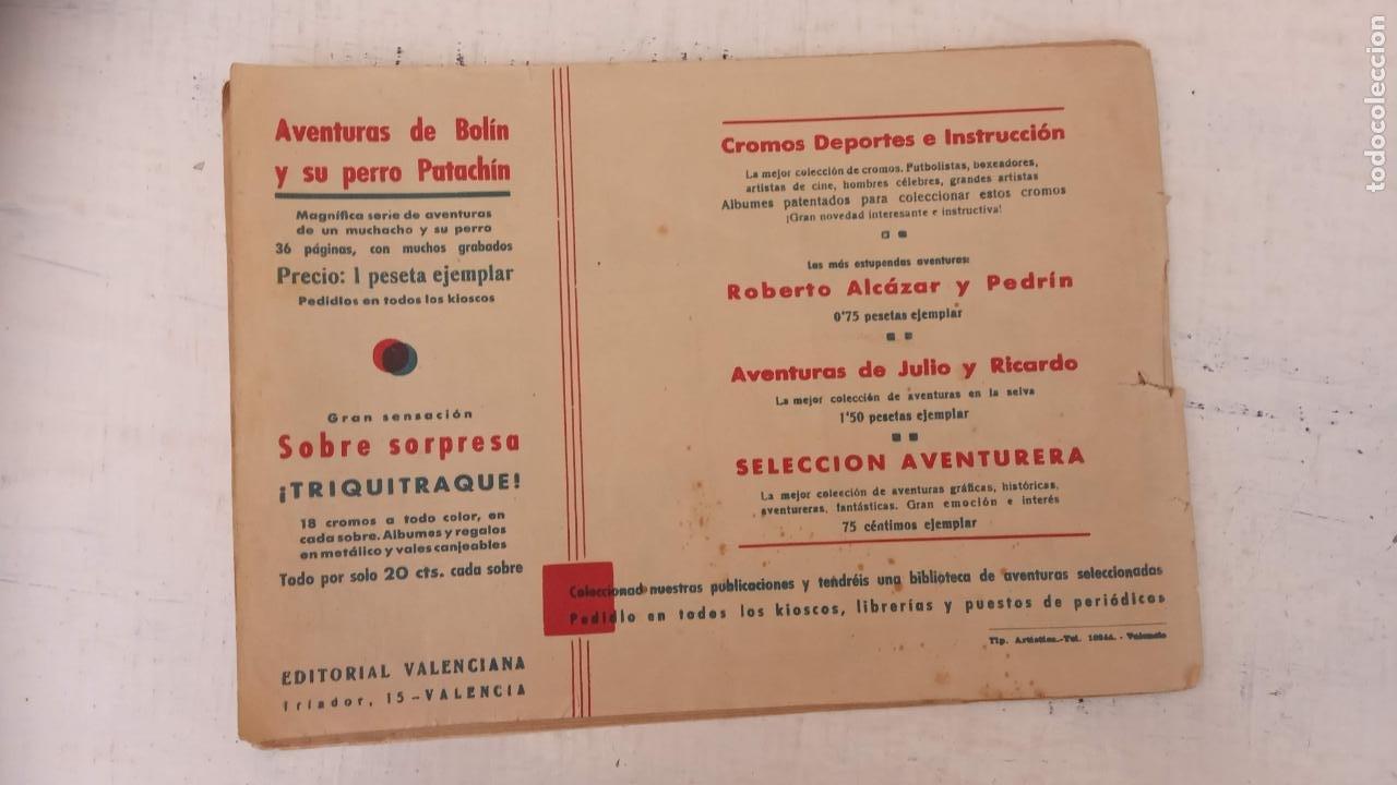 Tebeos: SELECCIÓN AVENTURERA Nº 30 - VALENCIANA 1941 - ORIGINAL - Foto 2 - 212264347