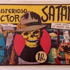 Tebeos: EL MISTERIOSO DOCTOR SATAN Nº 2 - EDI. VALENCIANA 1943 ORIGINAL. Lote 212265392