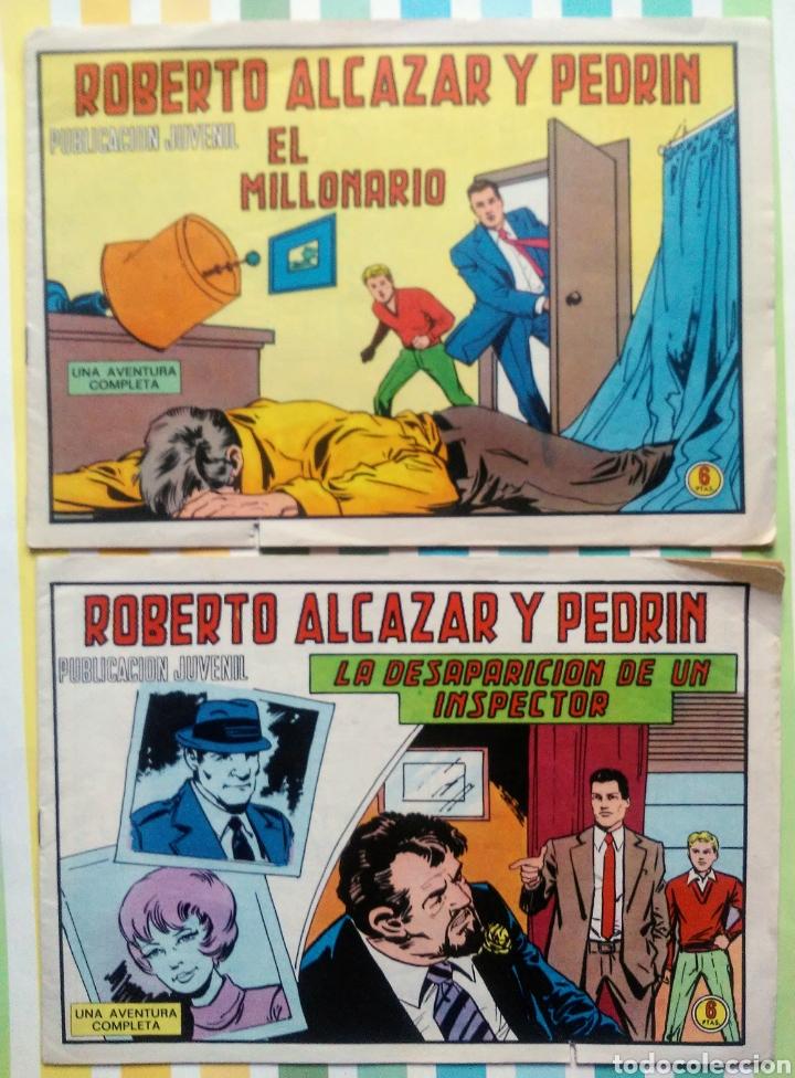 Tebeos: lote Alcazar y Pedrin nº 163, 273, 433, 726, 1203, 1207 y 1170 originales+ 246 2ª epoca - Foto 8 - 212309857