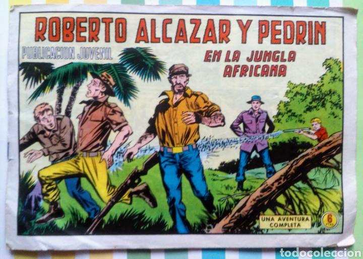 Tebeos: lote Alcazar y Pedrin nº 163, 273, 433, 726, 1203, 1207 y 1170 originales+ 246 2ª epoca - Foto 11 - 212309857