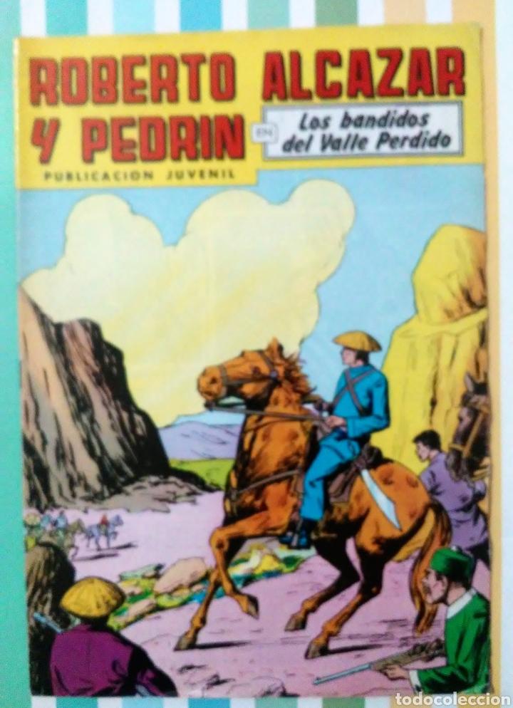 Tebeos: lote Alcazar y Pedrin nº 163, 273, 433, 726, 1203, 1207 y 1170 originales+ 246 2ª epoca - Foto 13 - 212309857