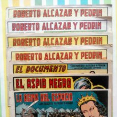 Tebeos: LOTE ALCAZAR Y PEDRIN Nº 163, 273, 433, 726, 1203, 1207 Y 1170 ORIGINALES+ 246 2ª EPOCA. Lote 212309857