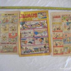 BDs: JML LOTE 3 JAIMITO 1964, Nº 1114. 1 COMPLETO Y DOS SIN TAPAS. VER FOTOS. RAROS.. Lote 212585458