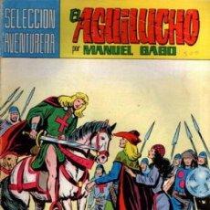 Tebeos: EL AGUILUCHO SELECCIÓN AVENTURERA Nº 31 EDITORIAL VALENCIANA. Lote 212597826