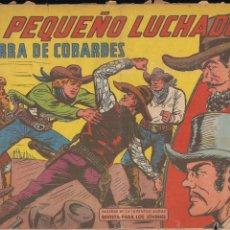 Tebeos: EL PEQUEÑO LUCHADOR Nº 213: TIERRA DE COBARDES. Lote 212611137