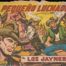Tebeos: EL PEQUEÑO LUCHADOR Nº 221: LOS JAYNER. Lote 212611282
