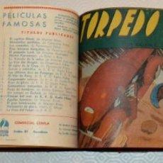 Tebeos: TOMO 60 TEBEOS - VALENCIANA, AMELLER, CISNE... - FU- MANCHÚ COMPLETO, CICLÓN, MARAVILLAS, WADE. Lote 212814642