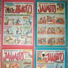 Tebeos: JAIMITO (VALENCIANA) LOTE DE 4 NUMEROS BAJOS Nº 81 97 115 125. Lote 212862876