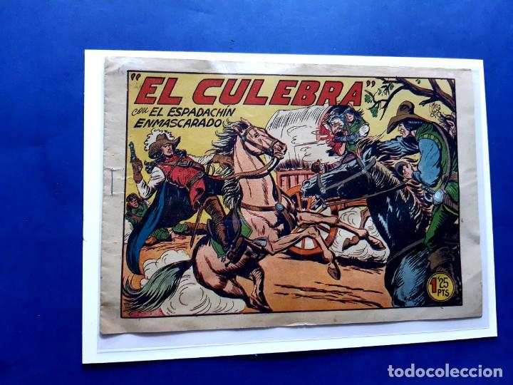 ESPADACHÍN ENMASCARADO, EL Nº 213. EL CULEBRA. MANUEL GAGO.EXCELENTE ESTADO-( SIN PLANCHAR ) (Tebeos y Comics - Valenciana - Espadachín Enmascarado)