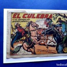 Tebeos: ESPADACHÍN ENMASCARADO, EL Nº 213. EL CULEBRA. MANUEL GAGO.EXCELENTE ESTADO-( SIN PLANCHAR ). Lote 212868933