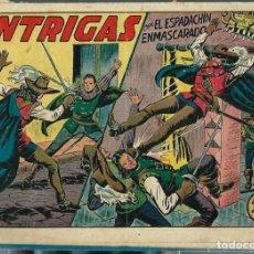Tebeos: M. GAGO - EL ESPADACHIN ENMASCARADO Nº 29 - INTRIGAS - VALENCIANA - ORIGINAL - UNICO EN TC. Lote 212883623