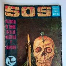 Giornalini: SOS (1975, EDIVAL) 3 · 22-III-1975 · S O S. HISTORIAS DE TERROR, INTRIGA, MISTERIO Y SUSPENSE. Lote 212921552
