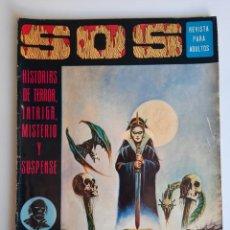 Giornalini: SOS (1975, EDIVAL) 10 · 28-VI-1975 · S O S. HISTORIAS DE TERROR, INTRIGA, MISTERIO Y SUSPENSE. Lote 212922960