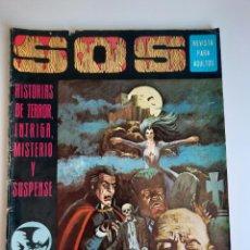 Giornalini: SOS (1975, EDIVAL) 1 · 22-II-1975 · S O S. HISTORIAS DE TERROR, INTRIGA, MISTERIO Y SUSPENSE. Lote 212925272