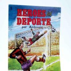 Tebeos: COLOSOS DEL COMIC 247. HÉROES DEL DEPORTE 1 (AMBROSIO - AMBRÓS) VALENCIANA, 1983. OFRT. Lote 253516180