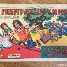 BDs: ¡¡LIQUIDACION TEBEO A 1 EURO!! PEDIDO MINIMO 5 EUROS - ROBERTO ALCAZAR Y PEDRIN 1010 ORIGINAL - GCH1. Lote 213061058