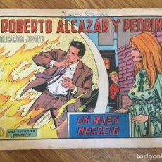 BDs: ¡¡LIQUIDACION TEBEO A 1 EURO!! PEDIDO MINIMO 5 EUROS - ROBERTO ALCAZAR Y PEDRIN 1038 ORIGINAL - GCH1. Lote 213061213