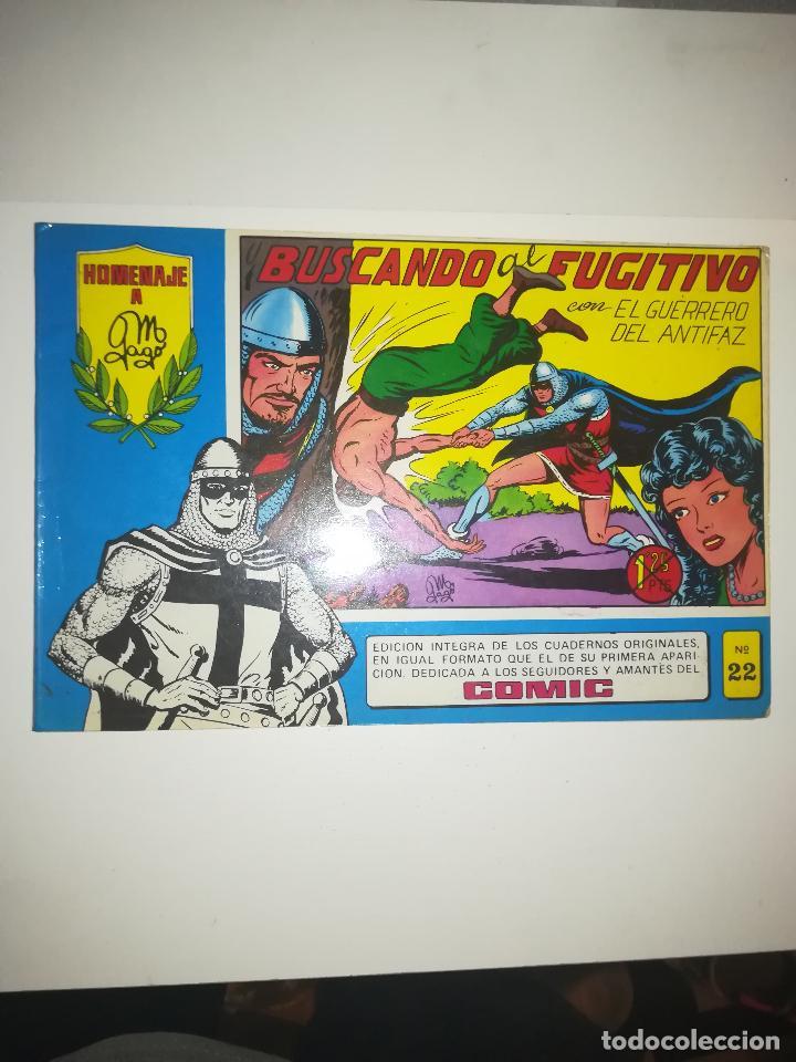 EL GUERRERO DEL ANTIFAZ HOMENAJE A GAGO #22 (Tebeos y Comics - Valenciana - Guerrero del Antifaz)