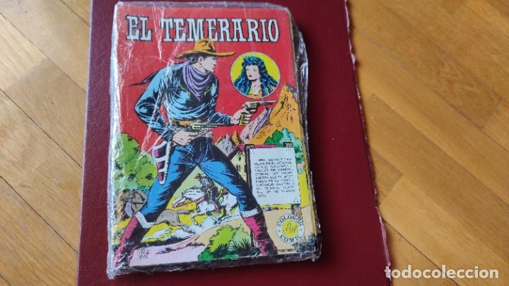 EL TEMERARIO (1981) COMPLETA (10 NÚMEROS) (Tebeos y Comics - Valenciana - Otros)