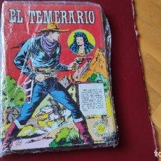 Tebeos: EL TEMERARIO (1981) COMPLETA (10 NÚMEROS). Lote 213144073