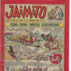 Tebeos: LOTE DE ** 58 ** TEBEOS ANTIGUO DE JAIMITO - 1954 - 1981 *** EDITORIAL VALENCIANA ****. Lote 213606406