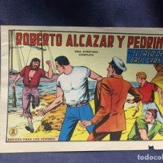 Tebeos: ROBERTO ALCAZAR Y PEDRIN Nº 736 ED. VALSA VALENCIA 1965 EL CASO DE BASIL GRANT 25X17.5CMS. Lote 213615293
