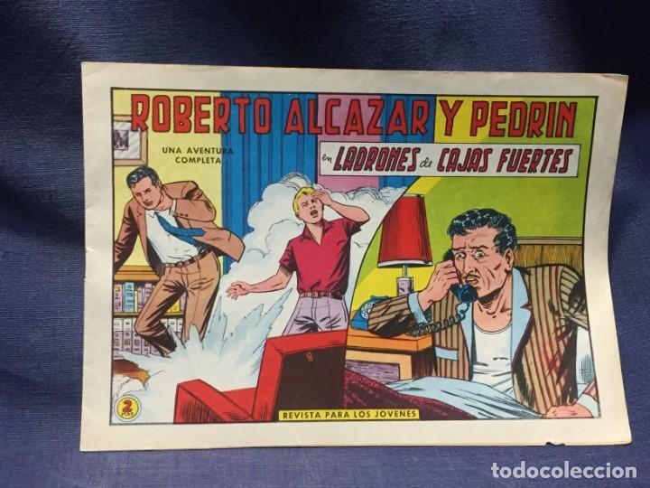 ROBERTO ALCAZAR Y PEDRIN Nº 723 ED. VALSA VALENCIA 1965 LADRONES DE CAJAS FURTES 25X17.5CMS (Tebeos y Comics - Valenciana - Roberto Alcázar y Pedrín)