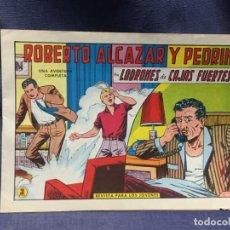 Tebeos: ROBERTO ALCAZAR Y PEDRIN Nº 723 ED. VALSA VALENCIA 1965 LADRONES DE CAJAS FURTES 25X17.5CMS. Lote 213615410