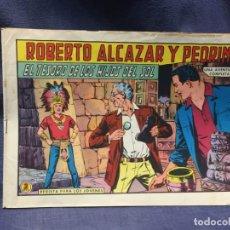 Tebeos: ROBERTO ALCAZAR Y PEDRIN Nº 722 ED. VALSA VALENCIA 1965 EL TESORO DE LOS HIJOS DEL SOL 25X17.5CMS. Lote 213615563
