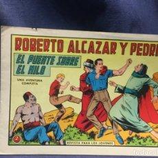 Tebeos: ROBERTO ALCAZAR Y PEDRIN Nº 696 ED. VALSA VALENCIA 1965 EL PUENTE SOBRE EL NILO 25X17.5CMS. Lote 213615801
