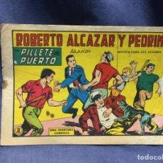 Tebeos: ROBERTO ALCAZAR Y PEDRIN Nº 686 ED. VALSA VALENCIA 1965 PILLETE DE PUERTO 25X17.5CMS. Lote 213615971