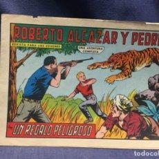 Tebeos: ROBERTO ALCAZAR Y PEDRIN Nº 665 ED. VALSA VALENCIA 1965 UN REGALO PELIGROSO 25X17.5CMS. Lote 213616172