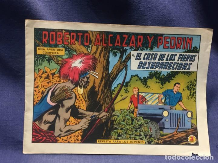 ROBERTO ALCAZAR Y PEDRIN Nº 708 ED. VALSA VALENCIA 1965 EL CASO DE LAS FIERAS DESAPARECIDAS 25X17.5C (Tebeos y Comics - Valenciana - Roberto Alcázar y Pedrín)