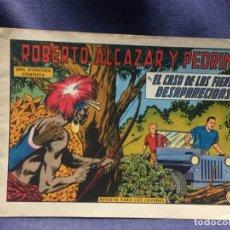 Tebeos: ROBERTO ALCAZAR Y PEDRIN Nº 708 ED. VALSA VALENCIA 1965 EL CASO DE LAS FIERAS DESAPARECIDAS 25X17.5C. Lote 213616761