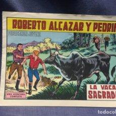 Tebeos: ROBERTO ALCAZAR Y PEDRIN Nº908 ED. VALSA VALENCIA 1970 LA VACA SAGRADA 25X17.5C. Lote 213616870