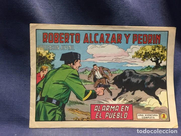 ROBERTO ALCAZAR Y PEDRIN Nº905 ED. VALSA VALENCIA 1970 ALARMA EN EL PUEBLO 25X17.5C (Tebeos y Comics - Valenciana - Roberto Alcázar y Pedrín)