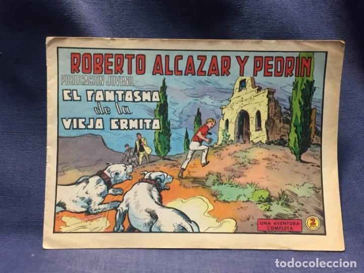 ROBERTO ALCAZAR Y PEDRIN Nº904 ED. VALSA VALENCIA 1970 EL FANTASMA DE LA VIEJA ERMITA 25X17.5C (Tebeos y Comics - Valenciana - Roberto Alcázar y Pedrín)