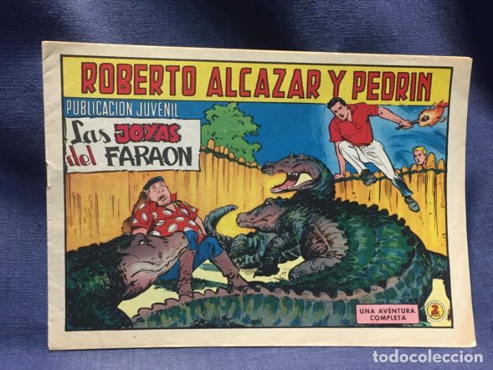 ROBERTO ALCAZAR Y PEDRIN Nº901 ED. VALSA VALENCIA 1969 LAS JOYAS DEL FARAON 25X17.5C (Tebeos y Comics - Valenciana - Roberto Alcázar y Pedrín)