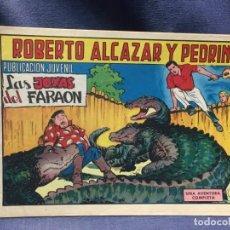 Tebeos: ROBERTO ALCAZAR Y PEDRIN Nº901 ED. VALSA VALENCIA 1969 LAS JOYAS DEL FARAON 25X17.5C. Lote 213617190