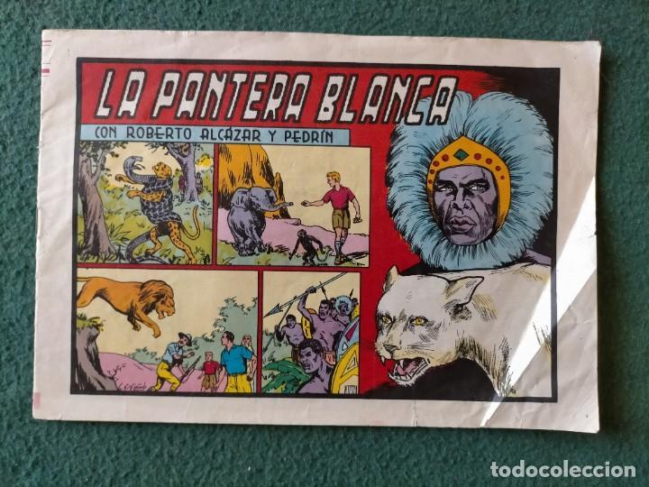 COMIC PANTERA BLANCA NUM. 146 EDITORA VALENCIANA 1984 (Tebeos y Comics - Valenciana - Roberto Alcázar y Pedrín)