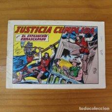 Tebeos: EL ESPADACHIN ENMASCARADO 44 JUSTICIA CUMPLIDA. EDITORIAL VALENCIANA 1982. Lote 213676236